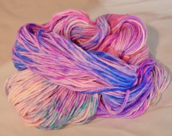 Superwash Bluefaced Leicester, DK weight, 4 ply