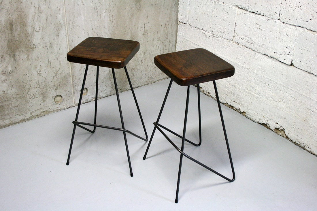 Bar stool industrial stool kitchen stools counter stool for Industrial design bar stools