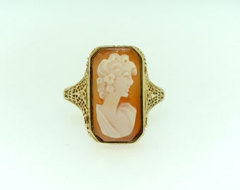 1940's Estate Cameo Ring