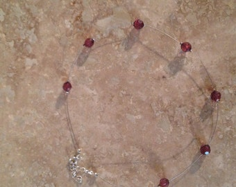 Vintage illusion necklace