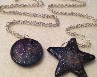 Galaxy Outer Space Necklace