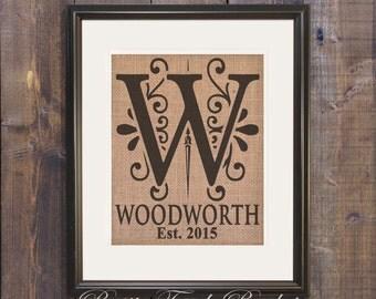 cabin decor rustic cabin decor cabin sign burlap wedding gift