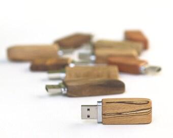 wooden USB flash drive memory stick 8GB/16GB