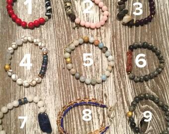 Clearance stretch bracelets