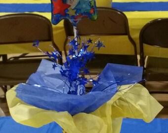 Minion Birthday Table Centerpiece