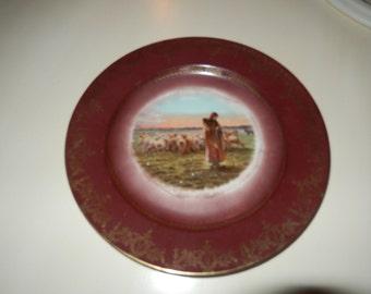 SHEPHERDESS PLATE