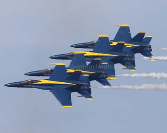 Blue Angels from San Francisco Fleet Week