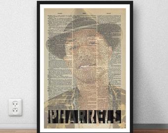 Buy 2 get 1 free offer - Pharrell - art print poster gift