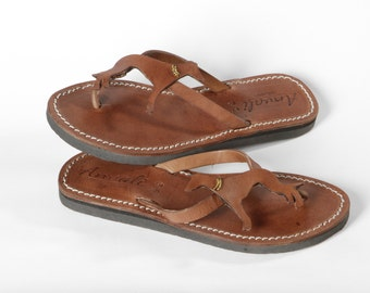 Greyhound/Lurcher Lovers Gift Sandals flip flops leather shoes handmade