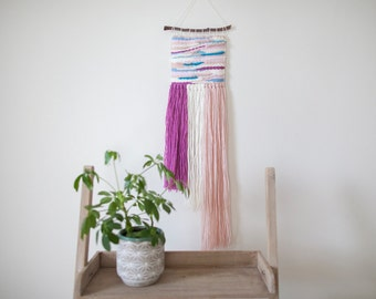Woven Wall Hanging // Pastel