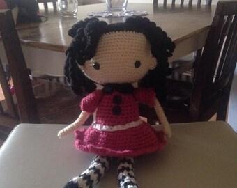 Medium crochet doll