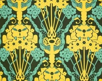 Hand Drawn Garden Nouveau Bouquet Anna Marie Horner   Cotton Quilt Fabric