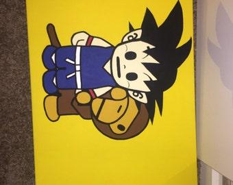 Milo & Goku Painting