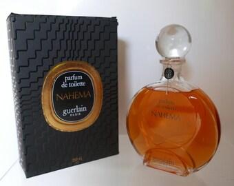 Guerlain Nahema 250 ml sealed bottle toilet fragrance