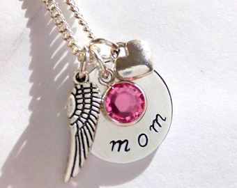 Remembrance Necklace,Remembrance Jewelry,In Memory of Jewelry,Mother,Mommy,Keepsake Necklace,Sympathy Jewelry,Memorial Necklace,Loss of Mom