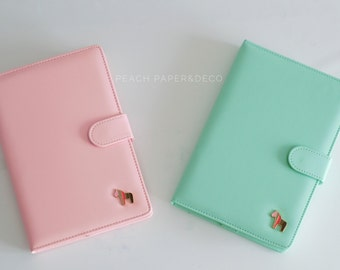 Agenda Planner 2016 | Mint and pink