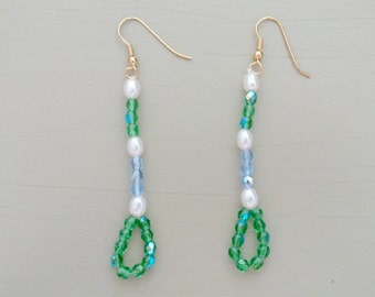 Pair of earrings - tranquility