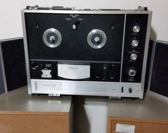 Sony TC-530. Reel to Reel Tape Recorder.With Speakers. Excellent condition. (1967)