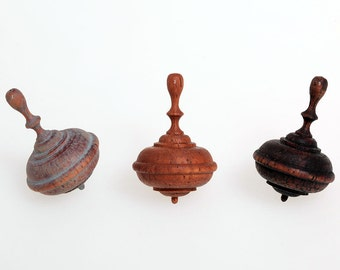 """Wooden spinning tops """"Classic-mini"""""""