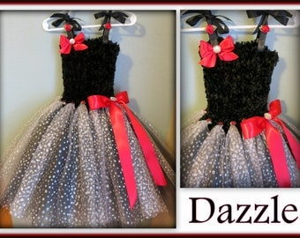 Dazzle - A Special Occasions Tutu Dress - Fits Toddler sz 2T/3T * Flower Girl, Pageants, Birthdays