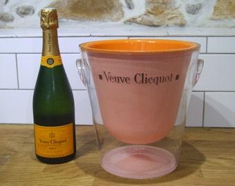Veuve Clicquot // Veuve Clicquot Champagne Bucket // Champagne Bucket // Champagne Ice Bucket// Veuve Clicquot Rose //