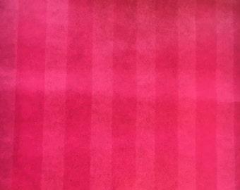 25% off SALE! Vintage Wallpaper Hot Pink Stripes