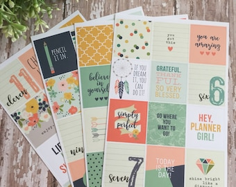 Planner Stickers by Simple Stories  (Set B)