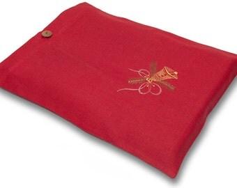 CHRISTMAS Linen Gift Bags, Gift Wrapping