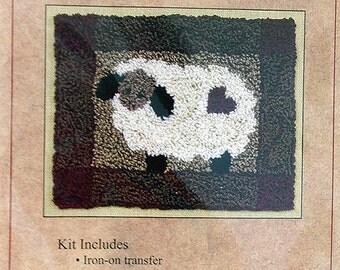 Sheep Punchneedle Embroidery Kit