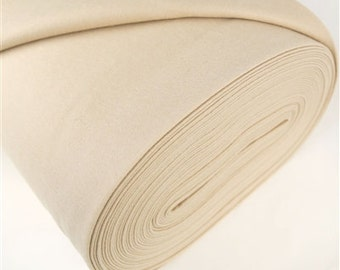 One yard Almond 100% Merino Wool Felt
