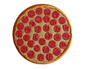 Popular patch- Pizza Pie Iron-On Patch food lovers