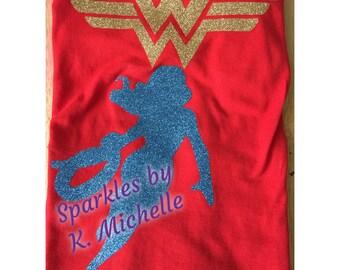 Wonder Woman Inspired Tee