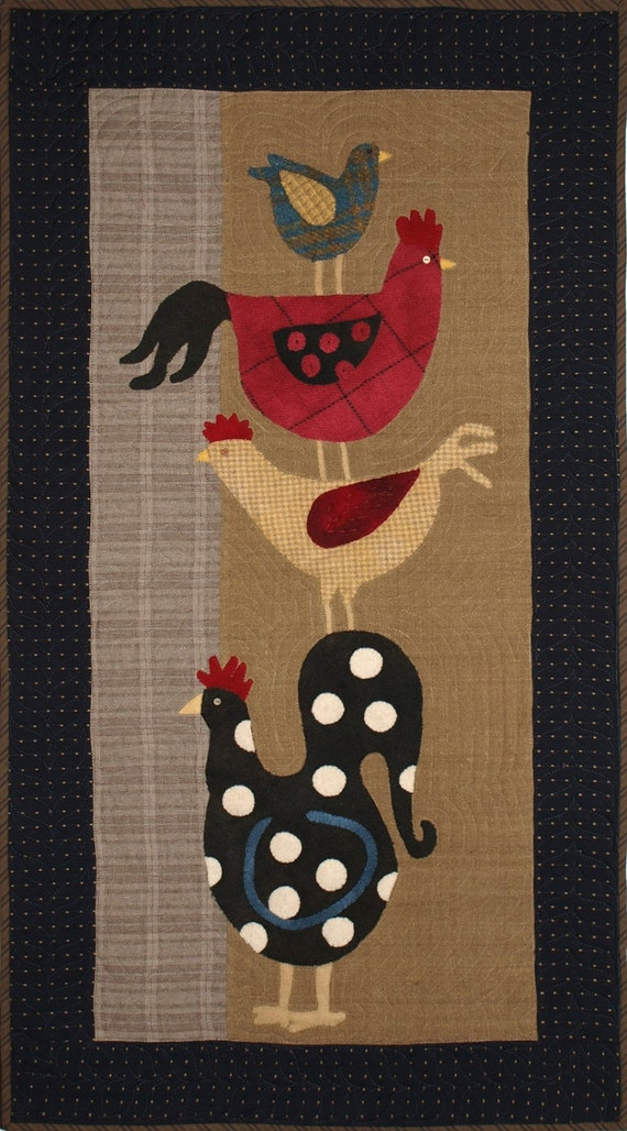 Primitive Wall Quilt Pattern Top Of The Morning