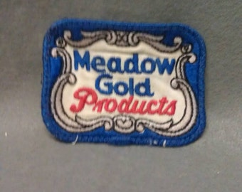 Meadow Gold Products Patch