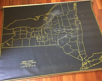 NYS Blackboard Roller Map