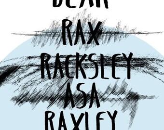 Dear Raxley - signed copy pre-order