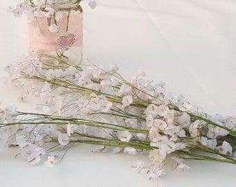 Artificial White Gypsophila/Babys Breath Silk Flower ~ 5 Stems - Wedding decoration, wedding posy, wedding centerpiece, bouquet