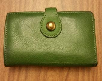 Green ladies wallet