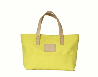 Bag Day lemon yellow