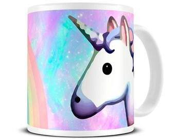Unicorns - Rainbow Unicorn Mug - Unicorn Gifts - Funny Mugs - Cute Mug - Gift for Her - Coffee Mug - MG546