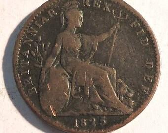British George IV Farthing 1825
