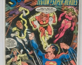 1979 DC Comics Presents #13 Superman And The Legion Of Super-Heroes Good Condition  Vintage DC Comic Book