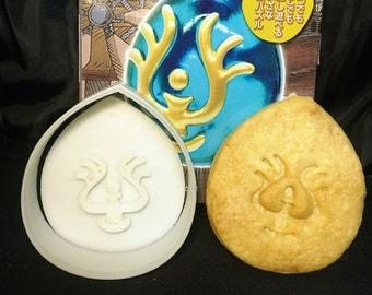 Laputa Castle in the Sky Sheeta's Levitation stone Biscuit Mold Fondant Mold Japanese Anime Cookie Miyazaki Castle in the Sky