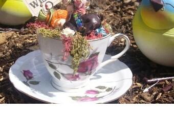 Mad hatter teacup sculpt baby