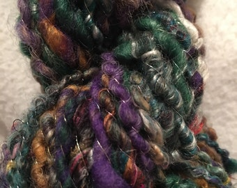 Handspun Art Yarn -56 yards