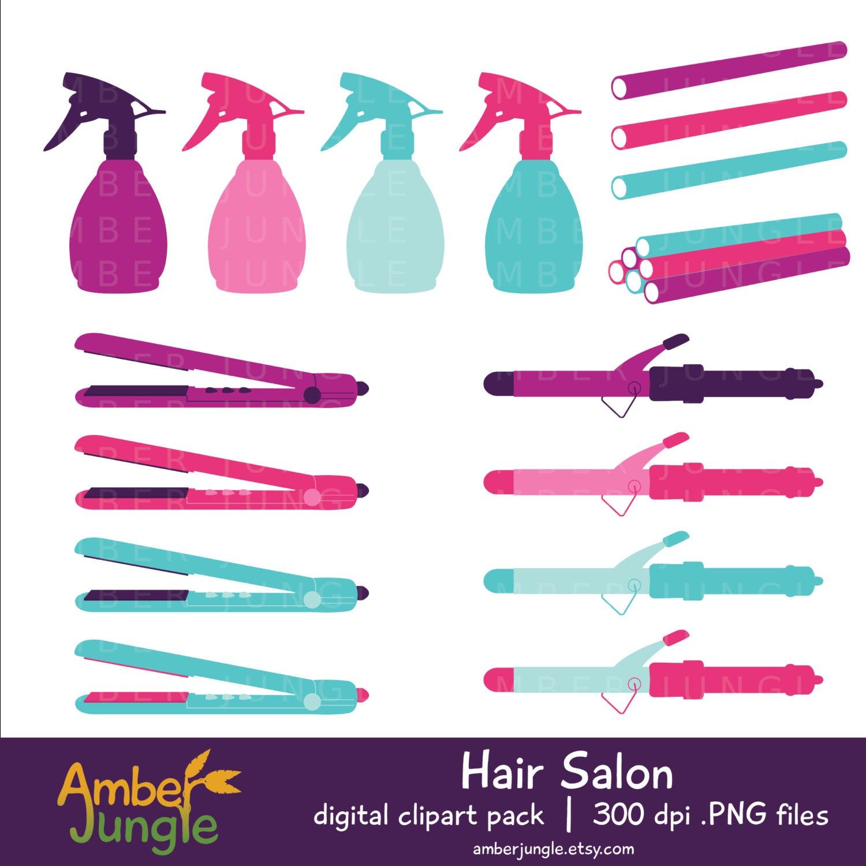 Hair Salon Clipart Haircut Stylist Clip Art Hair Dresser Tools