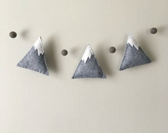 Felt Mountain and Pom Garland