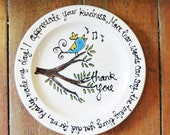 Thank You Plate