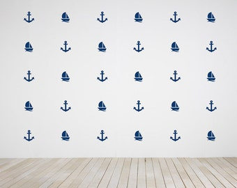 Sailor Wall Decal Etsy - Decals for boats canada