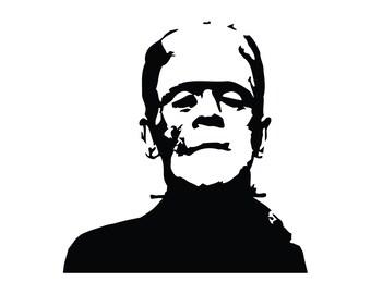 Frankenstein Vinyl Decal bumper sticker Mary Shelly Boris Karloff Horror Classic Movie Monster